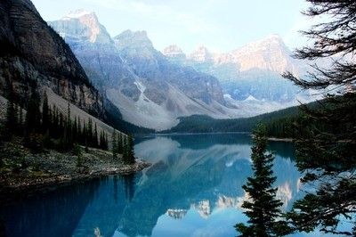 Lake Moraine Mirror
