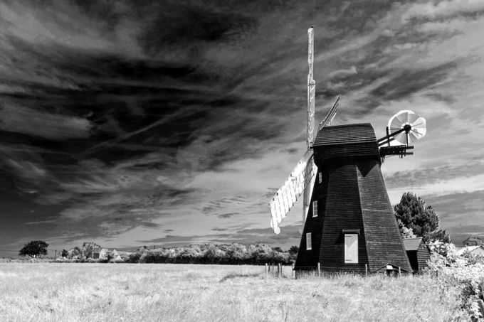 Lacey Green windmill by LauraWyld - 200 Windmills Photo Contest