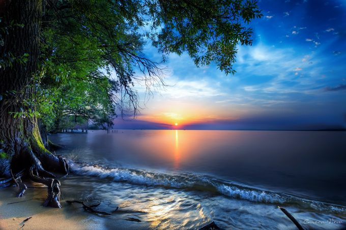 lakeside by CmoonView - Peaceful Sunsets Photo Contest