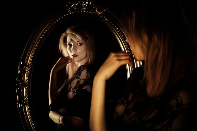 Personal Reflection by aphotogenicworld - The Face in the Mirror Photo Contest