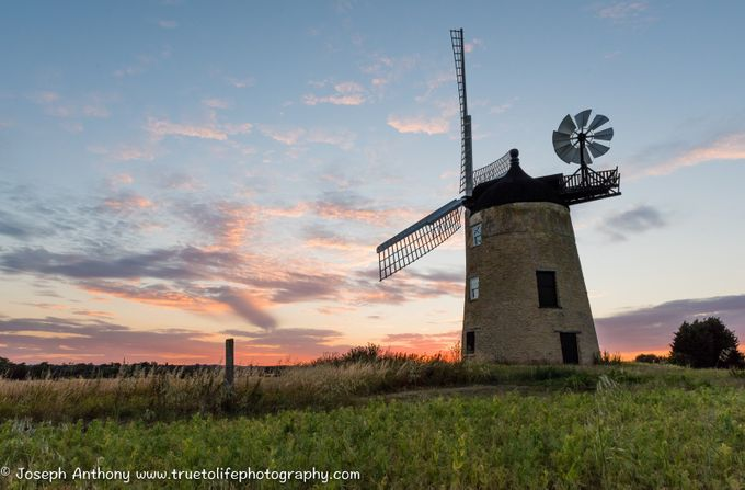 The mill on the hill by truetolifephotography - 200 Windmills Photo Contest