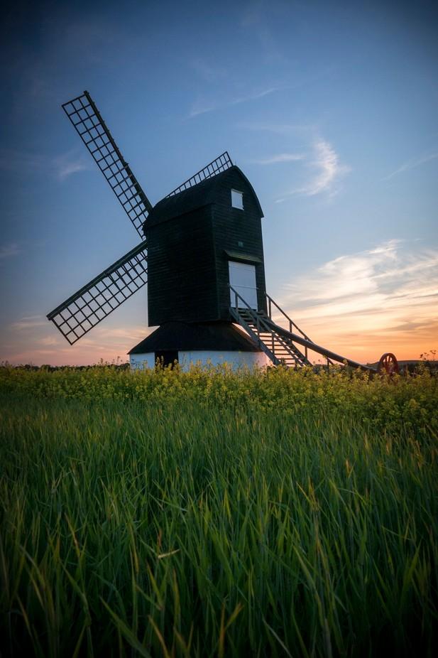 Pitstone Windmill by rob-nelson - 200 Windmills Photo Contest