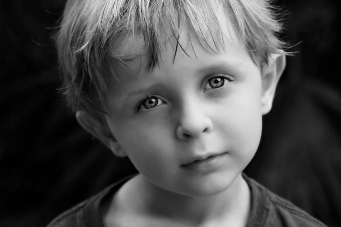 In his eyes by KatieMcKinneyPhotography - A Black And White World Photo Contest