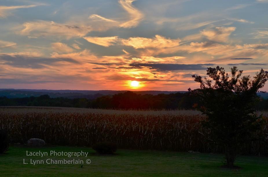 Sunset at Stockton Farm