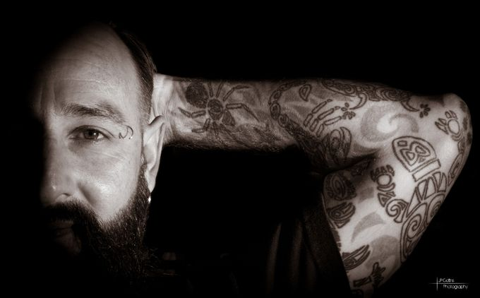 Chet by JPCollinsPhotography - 500 Tattoos Photo Contest