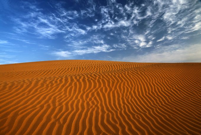 THAR DESERT by nakul - Blue Skies Photo Contest