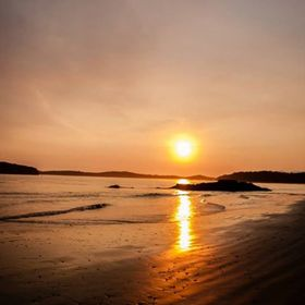 Tonquin Beach Sunset