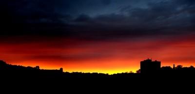 Dundee's sunset