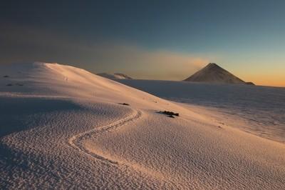 Kamchatka. view from Tolbachik volcona