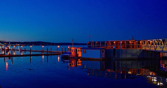 Port Orchard Marina Sunset 3