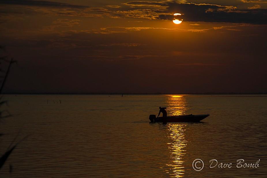 Sunset in Pellestrina (Chioggia)