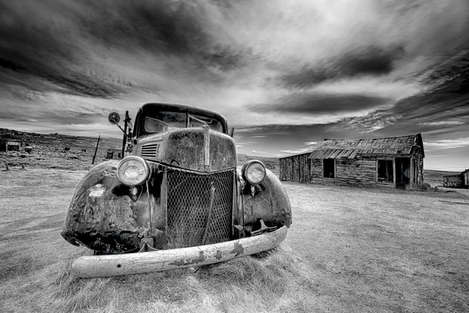 1940 Ford by dynastesgranti - Black And White Wow Factor Photo Contest