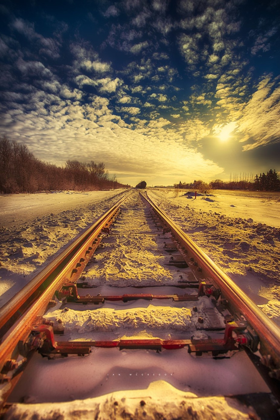 Winter Tracks by IanDMcGregor - Below My Knees Photo Contest