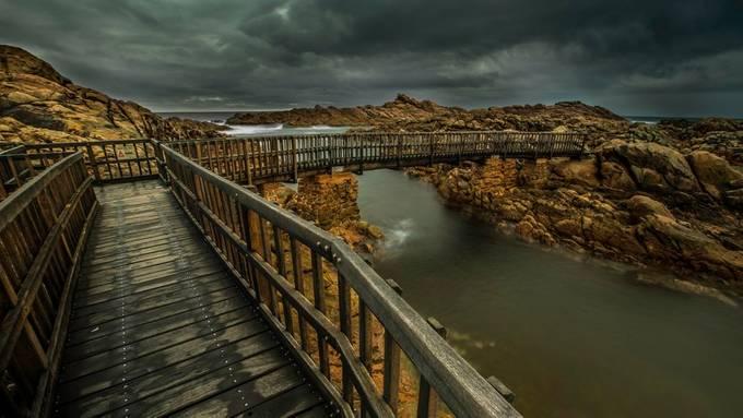 Canal Rocks by adwalton - Rails and Fences Photo Contest