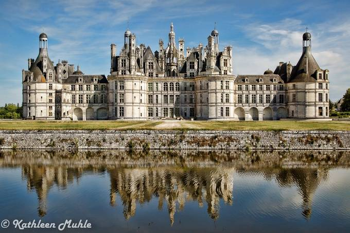 Palace Chateau Chambord by kathymuhle - Classical Architecture Photo Contest