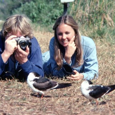 JD and JHL  Looking at Black Skimmers