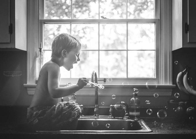 Bubbles by AnnieWhitehead - Happy Moments Photo Contest