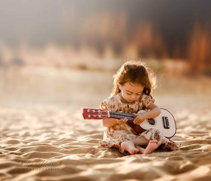 Tunes From My Soul by liliaalvarado - Youngsters Photo Contest