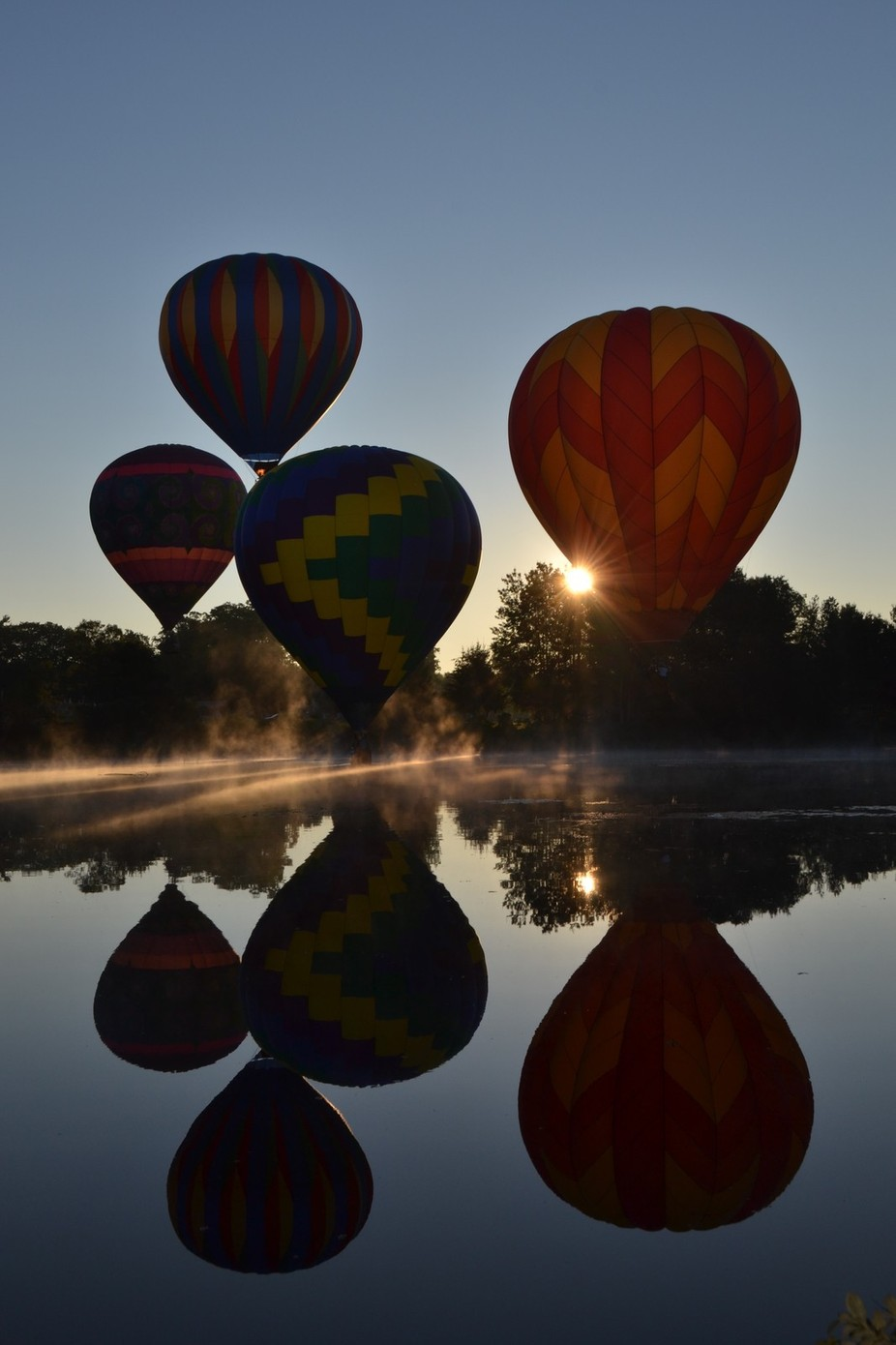 balloons at sunrise by amiejames - Show Balloons Photo Contest