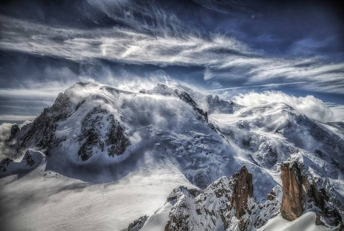 Mont Blanc Alive by MargaretN - The Beauty Of Nature Photo Contest