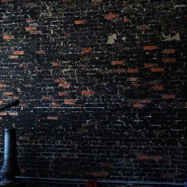 brick wall at rabbits foot