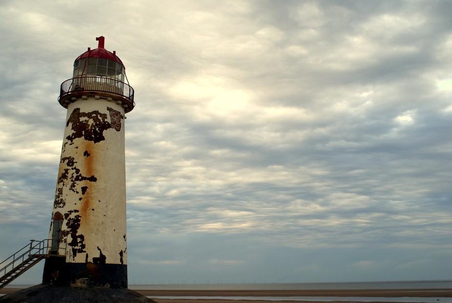 Old abandoned lighthouse