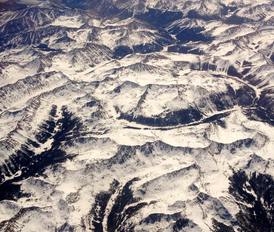 Snowy Rockies