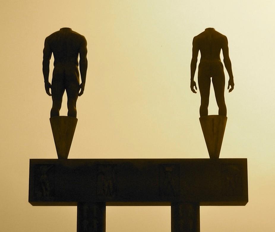 Athletes Statue