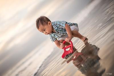 Nathan (Beach Play)