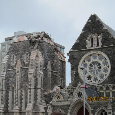 Christchurch Cathedral on 22:2
