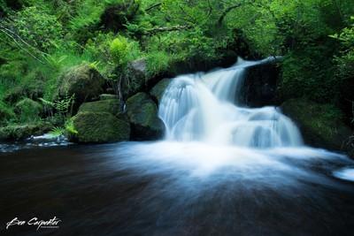 Water fall in the Peaks