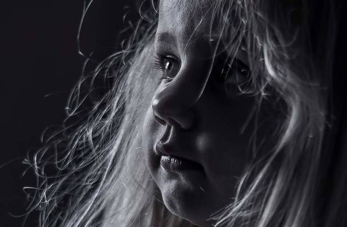 Daughters look  by bengadsbywilliams - Dark Portraits Photo Contest