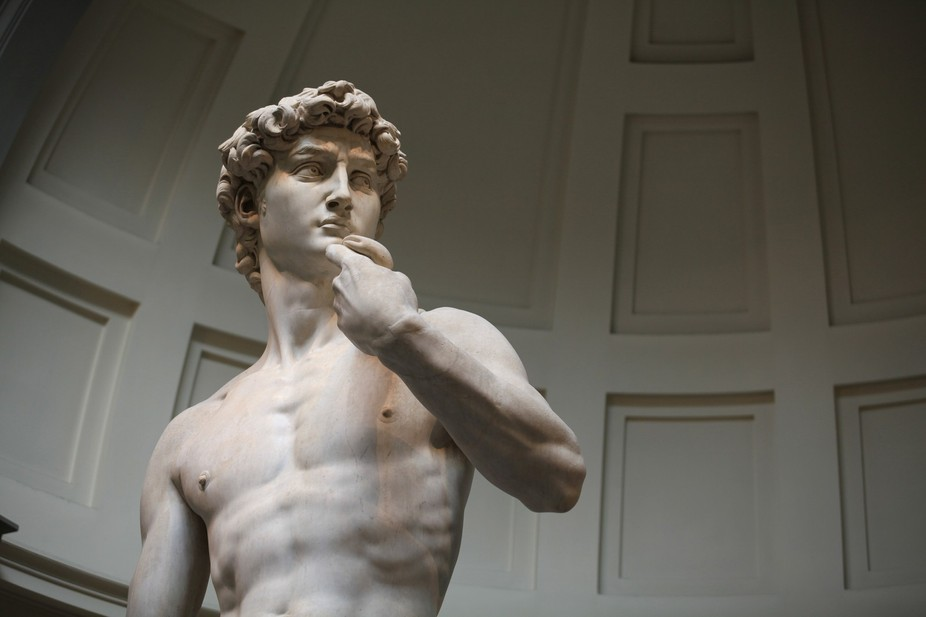 Standing 17 feet tall, it\'s hard to appreciate this magnificent statue until you see it up close....