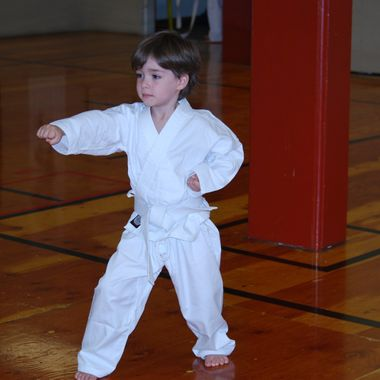 Shima Karate Age 5 Nanaimo, B.C. - June 15th, 2015