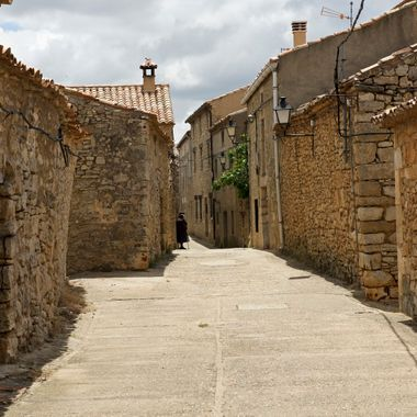 Rello, a view from medieval times, Soria, Spain