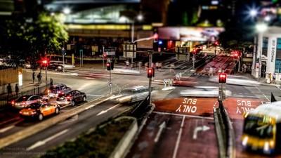 Brisbane CBD - Tilt Shift