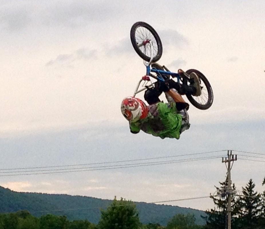 Flipping Bike !