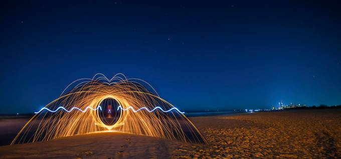 Steel City by ventenni - Night Wonders Photo Contest