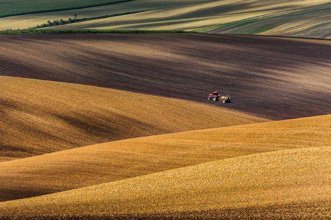 Moravian fields by marekbiegalski - Lost In The Field Photo Contest