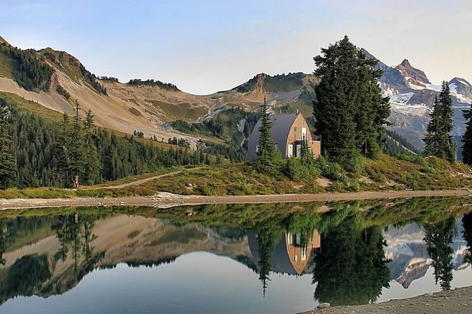 Elfin Reflection by Roadiegirl - Unforgettable Landscapes Photo Contest by Zenfolio