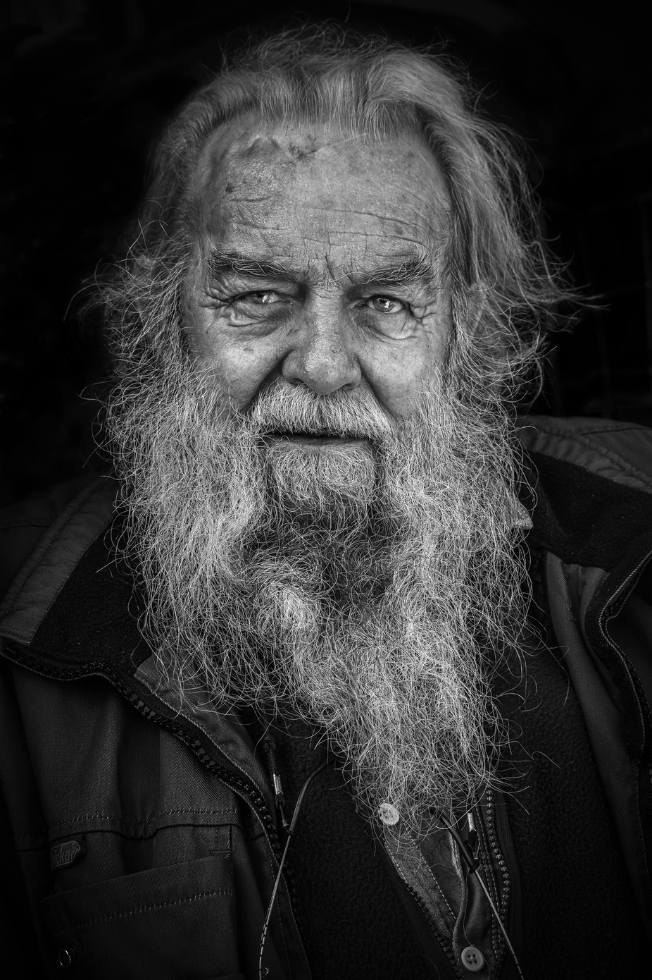 A Life Lived  by eileenmc - Beards and Mustaches Photo Contest