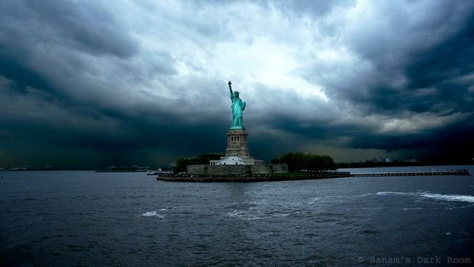 Lady Liberty by SanamsDarkRoom - HDR Landscapes Photo Contest