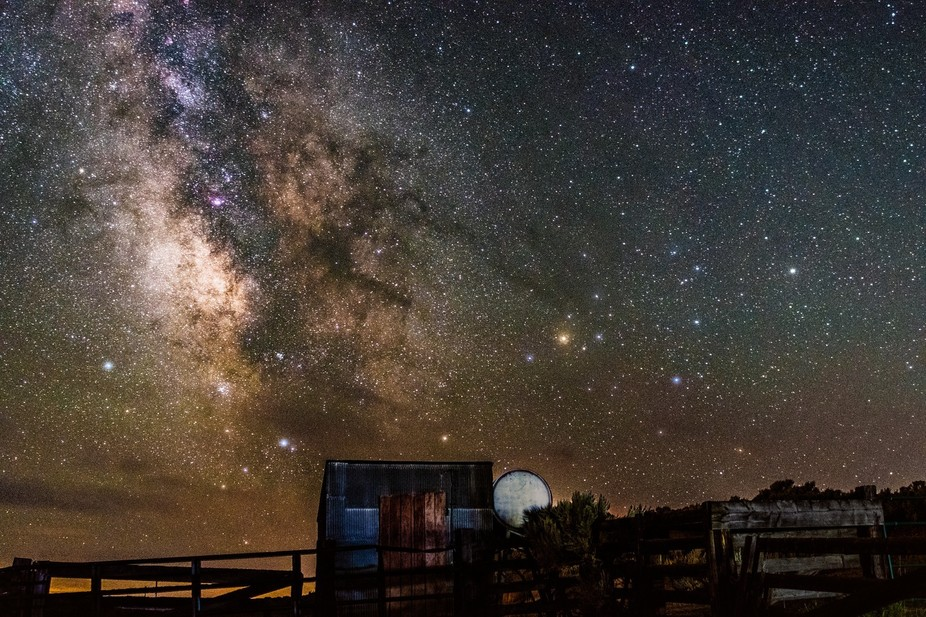 Staying in the Winds for a few nights, and we were fortunate enough to have clear skies while the...