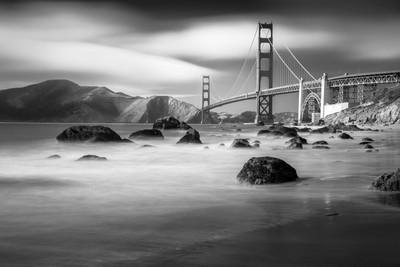 Golden Gate Bridge, B&W