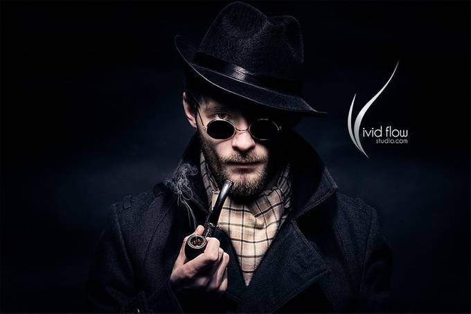 Sherlock Holmes like character by vividflow - Sunglasses Photo Contest