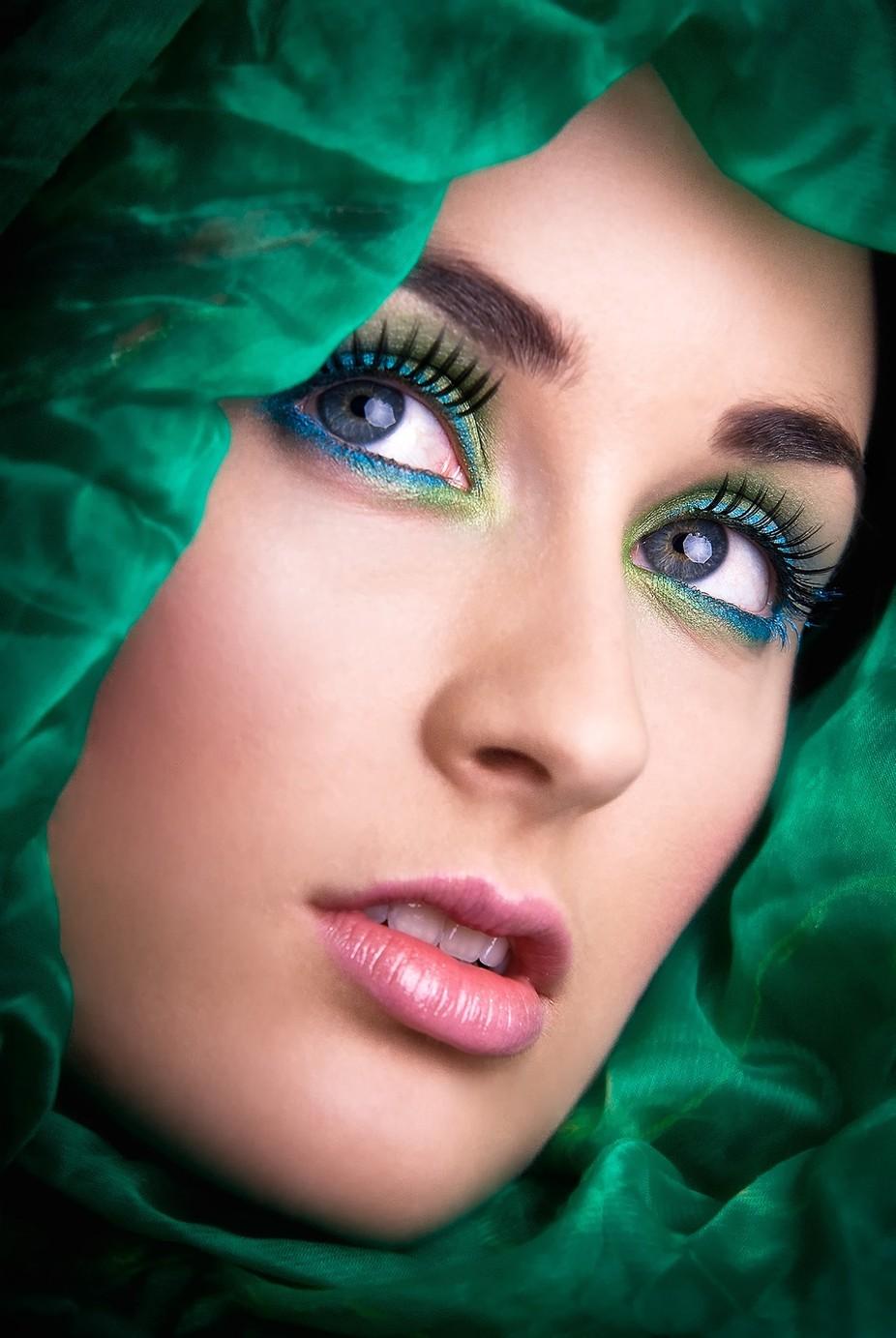 Emerald Beauty by KanaPhotography - Showcase Lips Photo Contest