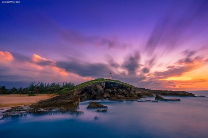 Sunset At The Lighthouse By Carlosmanchego 4865