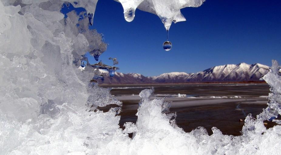 Utah Lake Ice