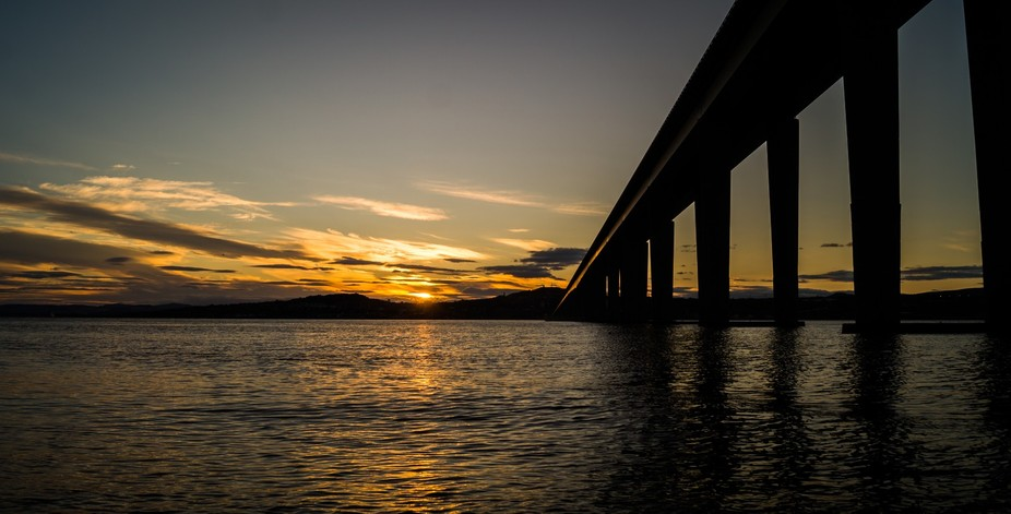 Sunset Over Dundee