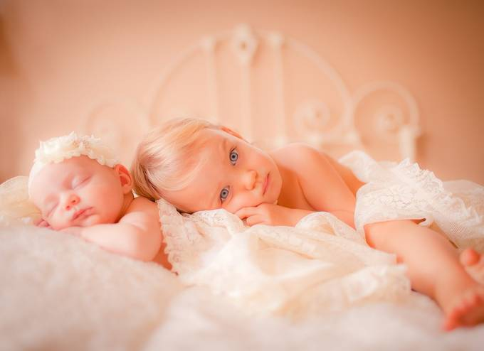 Baby Sister Love by DenaFay - Innocence Photo Contest